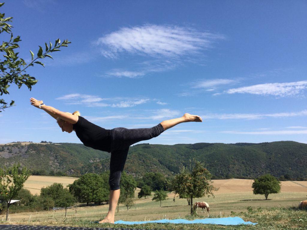 Yoga in der Natur - Duftyoga.de