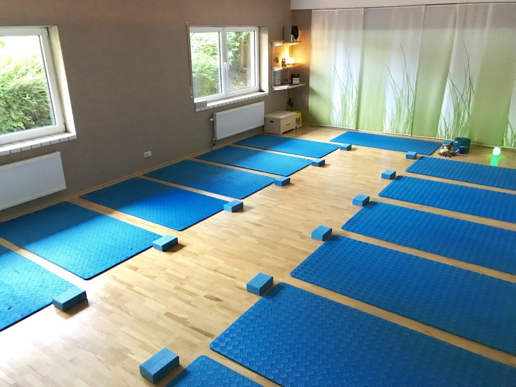 Der Yogaraum von Blau/Weiß-Hand e.V.